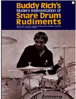 Buddy Rich Modern Interpretation Of Snare Drum Rudiments