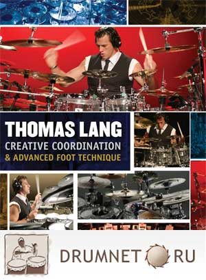 Thomas Lang Creative Coordination and Advanced Foot Technique dvd booklet