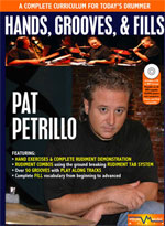 Pat Petrillo Hands, Grooves and Fills
