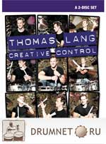 Thomas Lang  Creative Control dvd booklet Thomas Lang