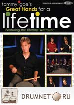 Tommy Igoe Great Hands For A Life time dvd booklet