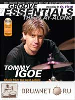 Tommy Igoe Groove Essentials dvd booklet playalongs Tommy Igoe