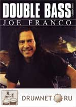 Joe Franco Double Bass Drumming dvd booklet Joe Franco