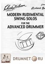 Charley Wilcoxon Modern Rudimental Swing Solos for the Advanced Drummer