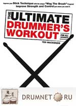 Ted Mackenzie The Ultimate Drummer's Workout For All Drummers dvd booklet