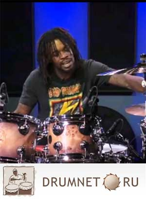 Thomas Pridgen Applying Rudiments To The Drum-Set