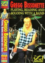 Gregg Bissonette Playing,reading and soloing with the band