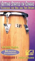 Bobby Sanabria Getting Started on Congas 1,2