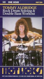 Tommy Aldridge Rock Drum Soloing and Double Bass Workout