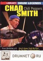 Pete Riley Stick Library / Lick Library - Chad Smith Drum Legends - Chili Peppers